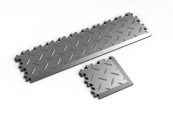Klikvloer Tegel PVC Mechanic 7mm Eindstuk / Hoekstuk